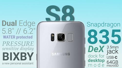 """Sau thất bại Note 7, chắc chắn Galaxy S8 sẽ là hàng """"khủng"""" của Samsung."""