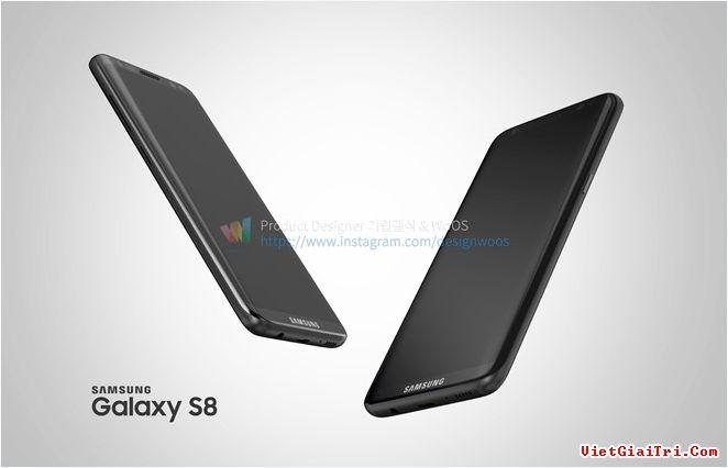 Di động Galaxy S8 là sản phẩm chiến lược của Samsung để đối đầu iPhone 8 từ Apple. Model này được cho sẽ loại bỏ phím Home vật lý, tích hợp phím Home ảo ngay dưới màn hình.