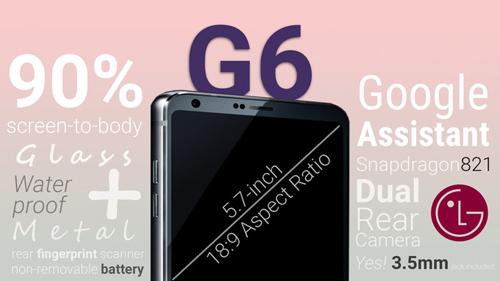 LG G6 hứa hẹn sẽ bùng nổ trong năm 2017