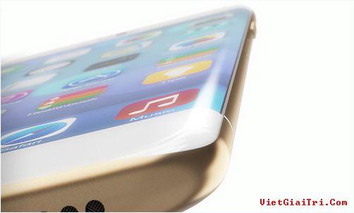 iPhone 8 sẽ không có màn hình cong.