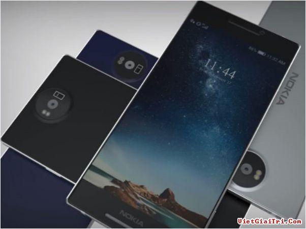 Bản dựng thiết bị được cho là Nokia 8.