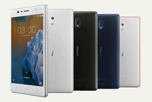 Bốn mẫu điện thoại mang thương hiệu Nokia sẽ được bán ra vào cuối quý 2.