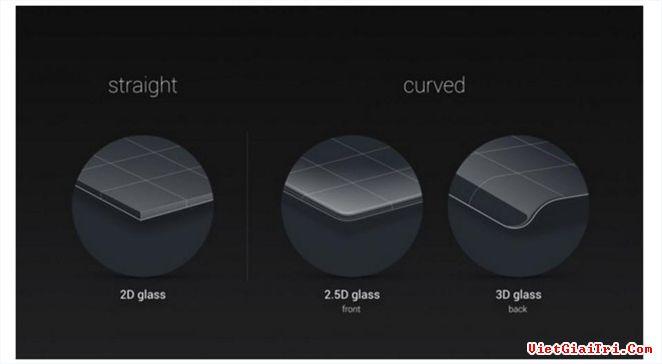 Apple có thể dùng mặt kính cong 3D cho iPhone mới.