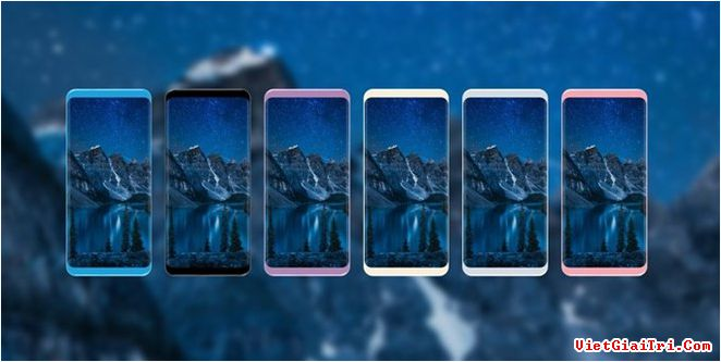 6 trong số 7 màu của Galaxy S8. Ảnh: Phonearena.