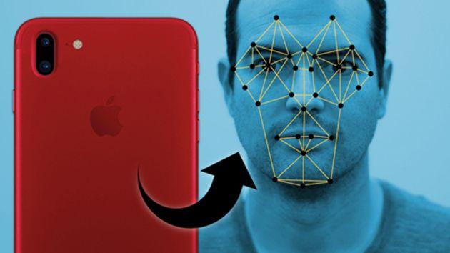 Hệ thống nhận diện khuôn mặt trên iPhone.