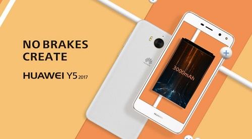 Huawei Y5 2017 thuộc phân khúc smartphone tầm trung