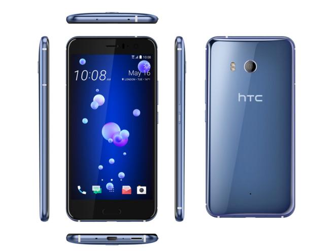 Toàn bộ góc cạnh của HTC U11.