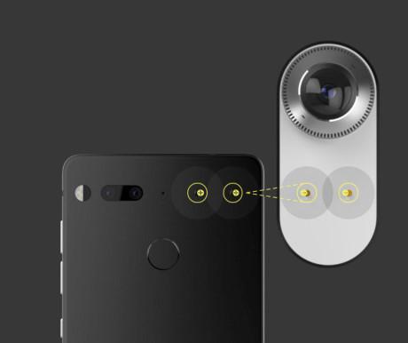 Smartphone này có giá 700 USD, thêm 50 USD nếu người dùng mua thêm camera 360 độ.