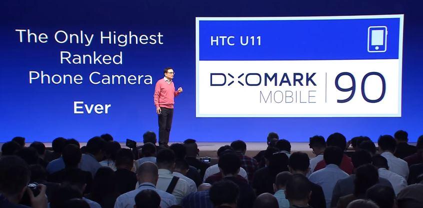 Điểm chụp ảnh trên DxOMark của HTC U11 cao nhất thế giới hiện nay