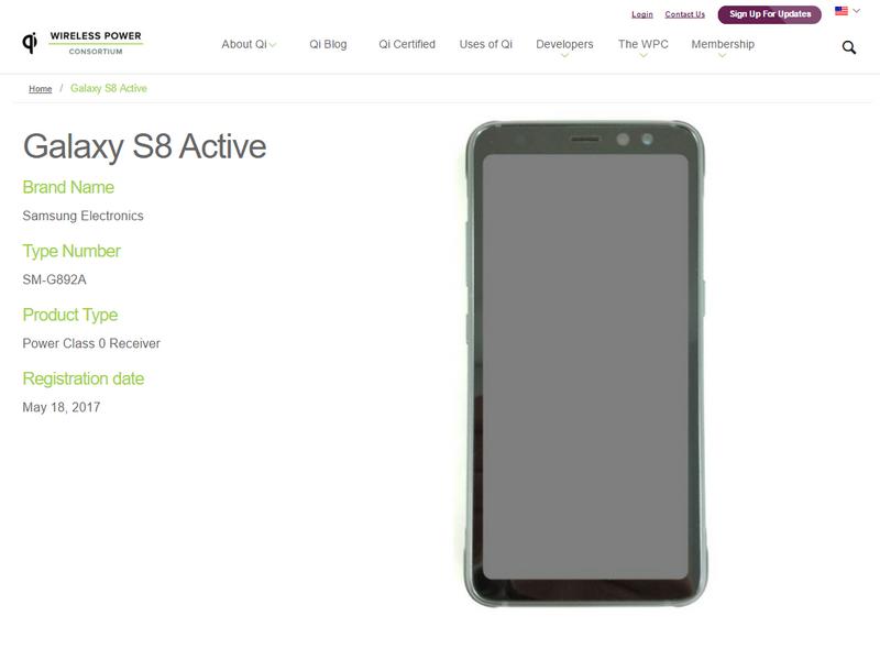 Hình ảnh được cho là thiết kế của Galaxy S8 Active năm nay.