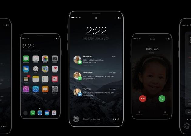 Rất có thể, iPhone 8 trông sẽ như thế này.