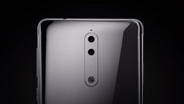 Nokia 9 trang bị camera kép ở mặt lưng.