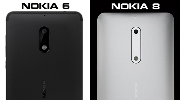 Nokia 8 chỉ trang bị camera đơn ở mặt lưng.