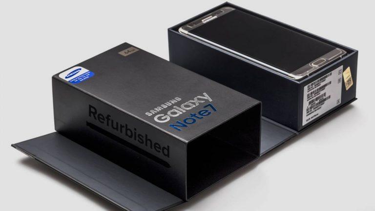 Trước đây Samsung chỉ định đặt tên là Galaxy Note 7R.