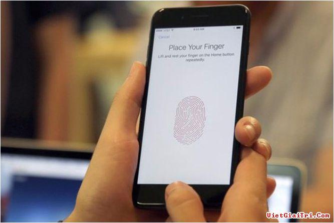 Cảm biến vân tay liên tục sẽ giúp nhận ra chủ nhân thật sự của iPhone khi sử dụng
