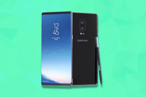 Ảnh concept Galaxy Note 8.