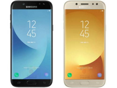 Tại Pháp, Galaxy J5 2017 chỉ có 2 tùy chọn màu đen và vàng.