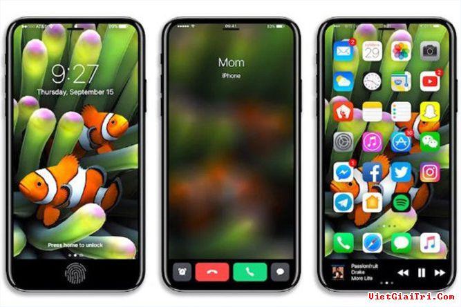 Có hai trường hợp Apple có thể tích hợp cảm biến vân tay vào màn hình