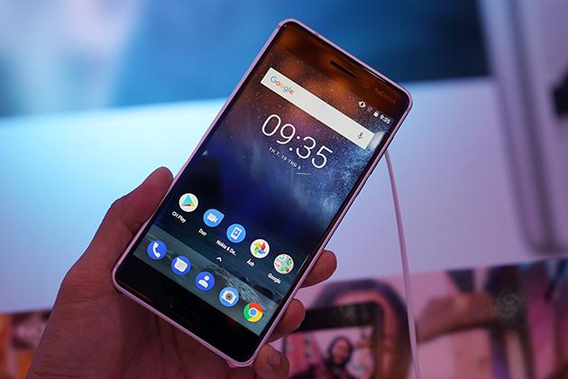 Hình ảnh thực tế sản phẩm Nokia 6.