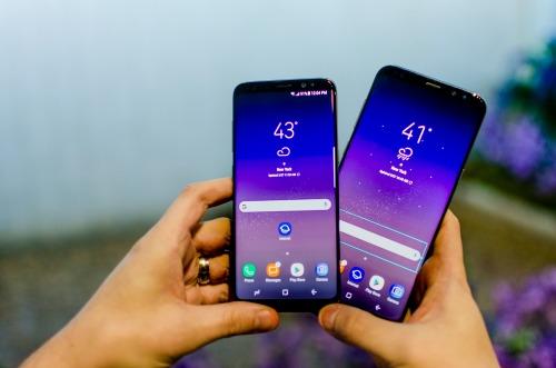 Cặp Galaxy S8 và S8 + đang được bán rất chạy tại thị trường trong nước.