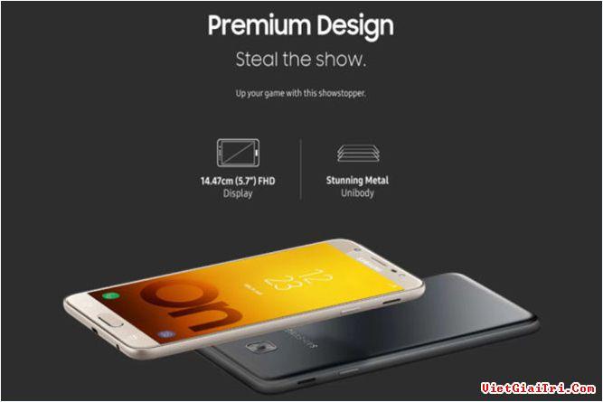 Galaxy On Max có thiết kế cao cấp, camera mạnh mẽ với giá chỉ 260 USD. ẢNH: SAMSUNG