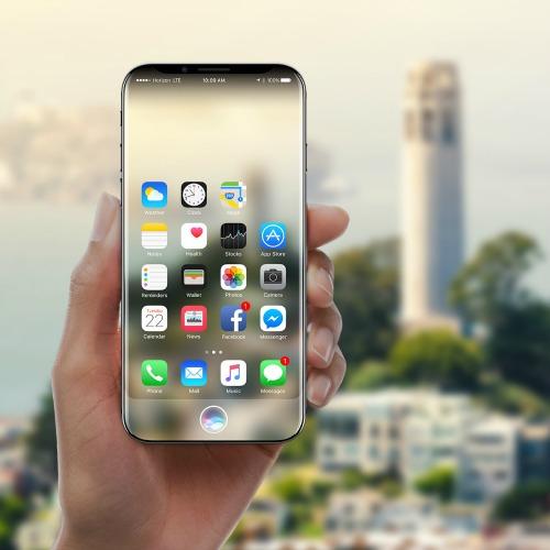 Concept mới nhất của iPhone 8.