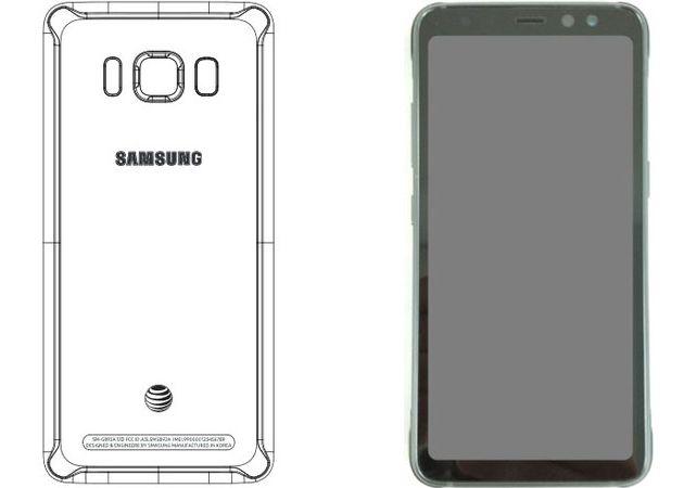 S8 Active sẽ không được trang bị màn hình cong vô cực mà là màn hình phẳng.