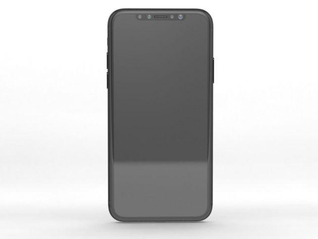 Mặt trước của iPhone 8.