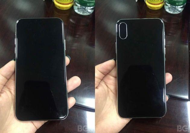 Hình ảnh rò rỉ về iPhone 8.