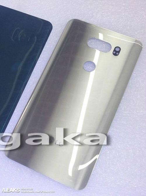 Ảnh mặt lưng của LG V30.