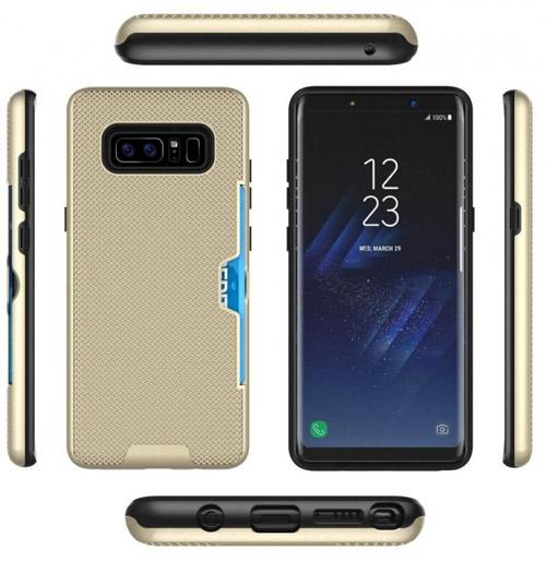 Hình ảnh Galaxy Note 8 kèm vỏ bọc