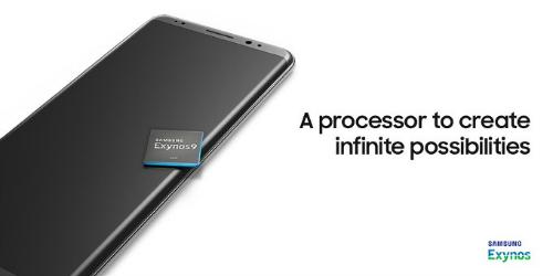 Ngay trong năm nay, Galaxy Note 8 sẽ được tích hợp loạt chip Exynos 9xxx của Samsung.