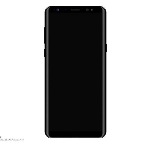 Samsung Galaxy Note 8 mới rò rỉ có màn hình vô cực tựa Galaxy S8