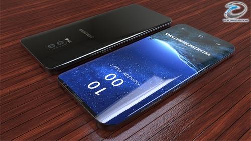 Galaxy S9 có thể có tốc độ tải mạng cực cao.