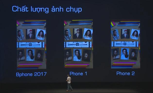 Chất lượng ảnh chụp của Bphone 2017 và 2 mẫu smartphone cao cấp hiện nay.