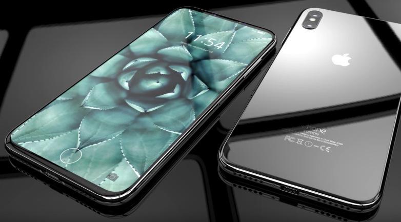 Hình ảnh concept iPhone 8.