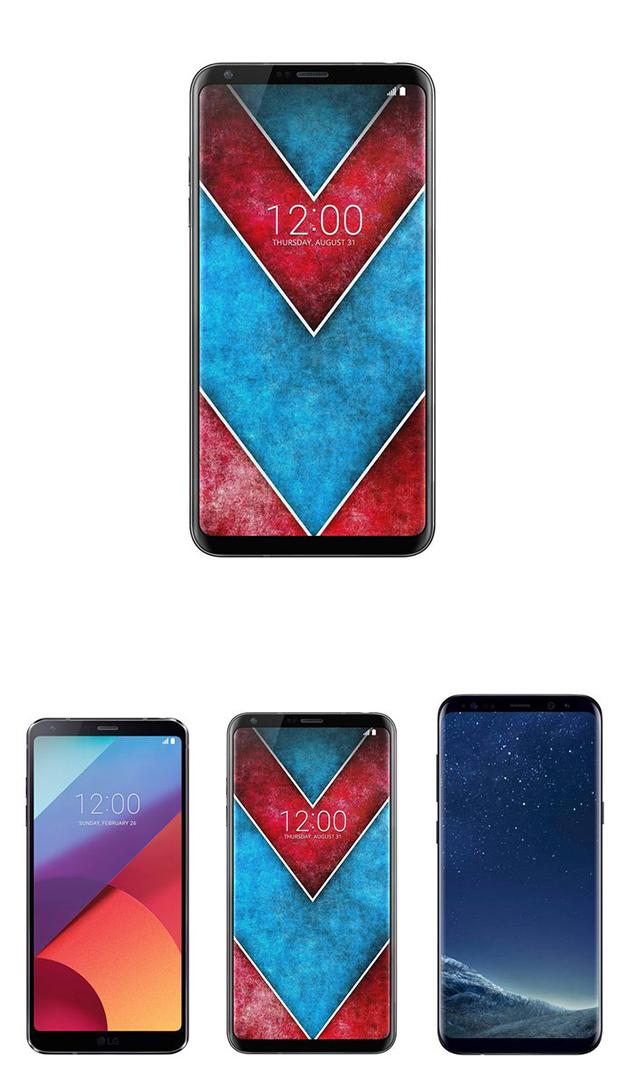 LG V30 sẽ được trang bị màn hình OLED công nghệ FullVision.