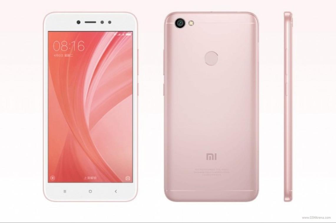 Xiaomi Redmi Note 5A bản màu Vàng Rose.
