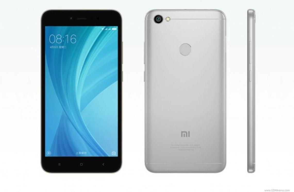 Xiaomi Redmi Note 5A bản màu Platinum Silver Grey.