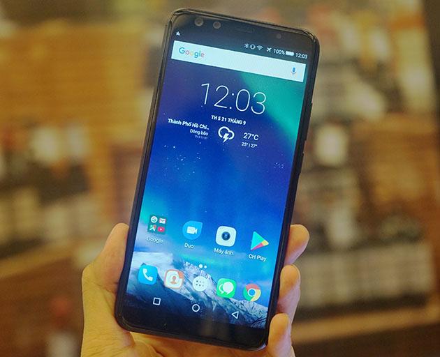Ảnh trên tay Prime X Max 2017 - smartphone mới của Mobiistar