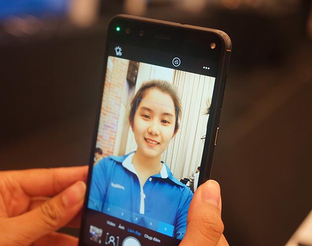 Ảnh selfie từ Zumbo S2 Dual.