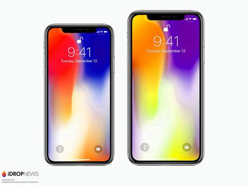 Thiết kế tương tự iPhone X sắp ra mắt